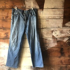 7 For All Mankind Jeans - 7 for All Mankind 40 x 31 Relaxed Medium Wash Jean